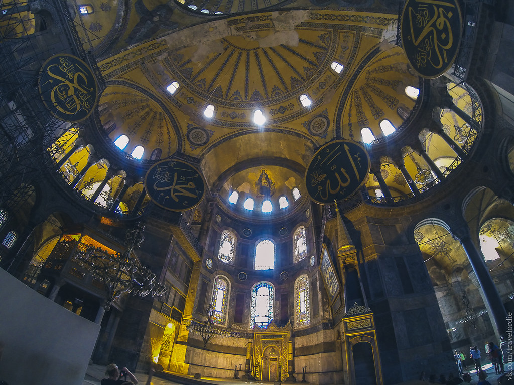 Inside Ayasofya Museum / Внутри Собора Святой Софии, Стамбул