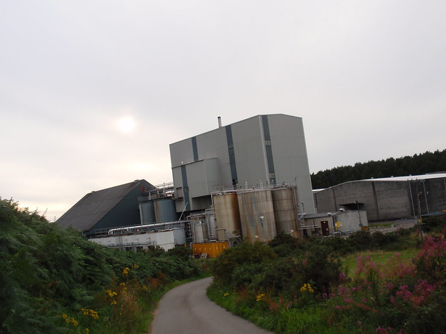 Mannochmore distillery
