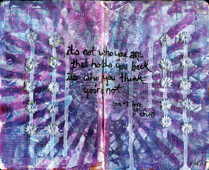 art journal - who you're not