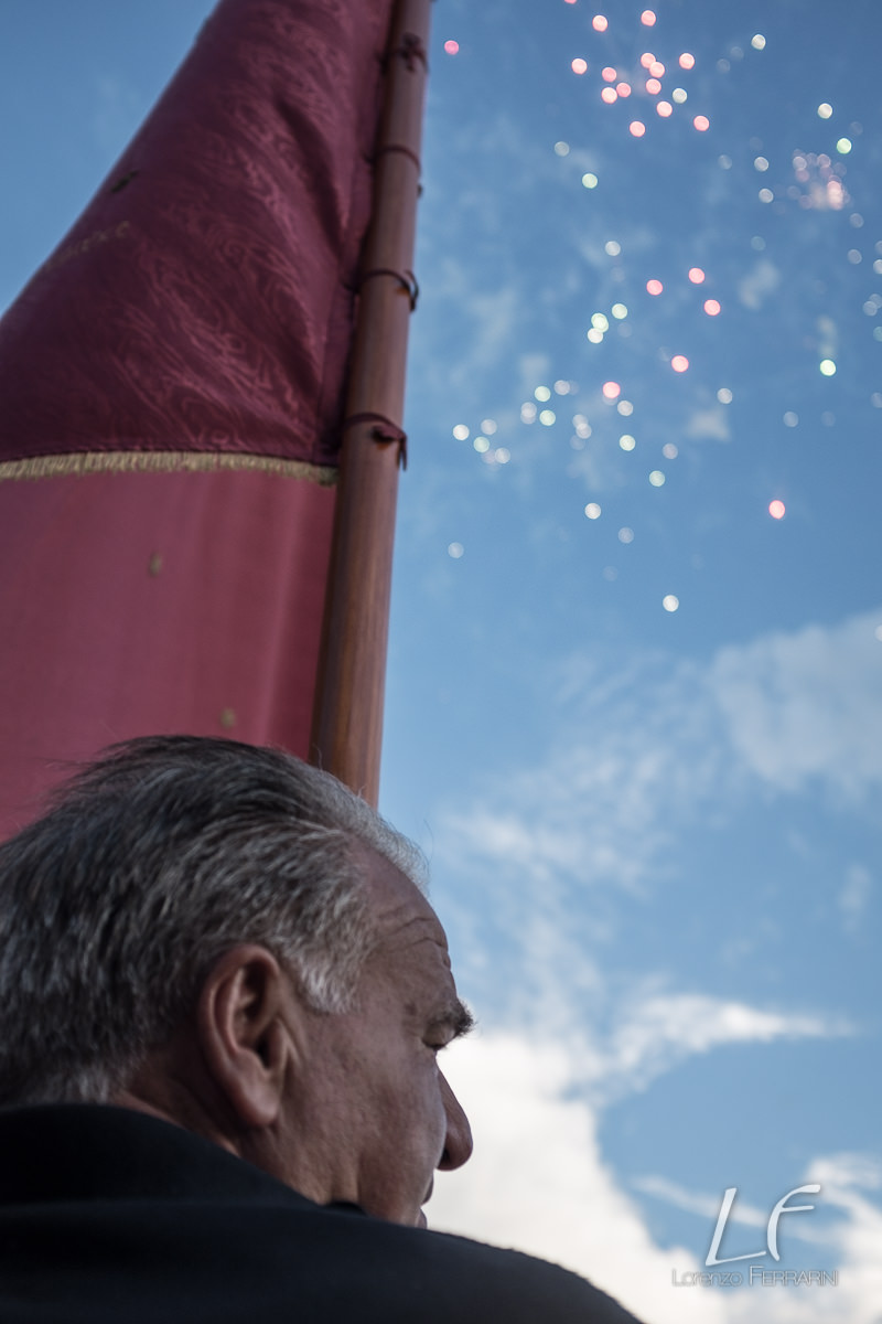san rocco procession senise