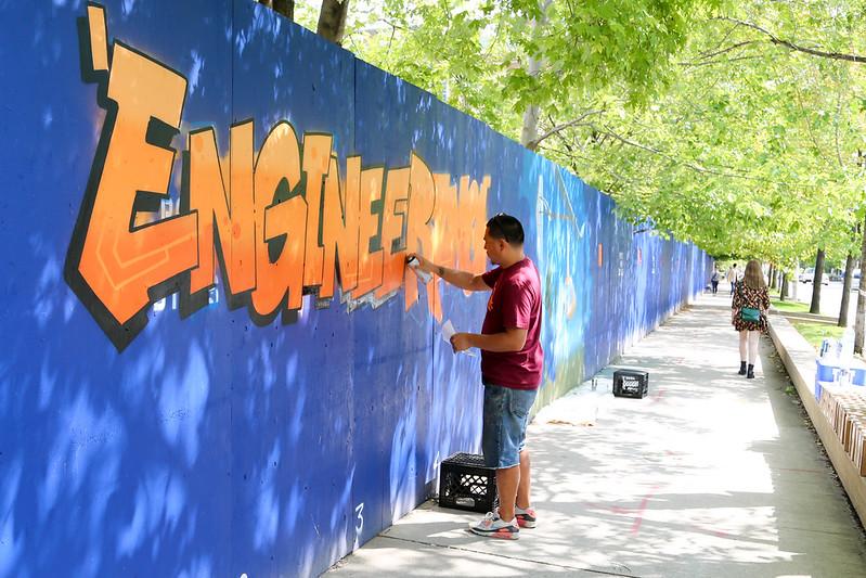 CEIE x SKAM: U of T Engineering Street Art