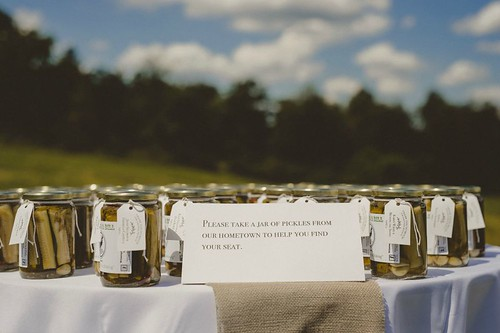 Wedding Favors by Wilmington Pickling Company - Pat Robinson Photography