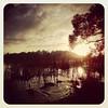 Sunrise at #rotoroa #earlymorningrun #lastoneatthelake #offtotheriver #thetron #hockeynearlydone
