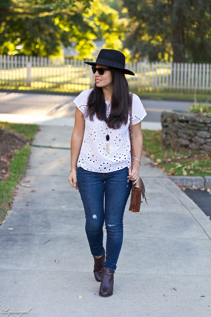 eyelet lace top, distressed jeans, vionic booties-1.jpg