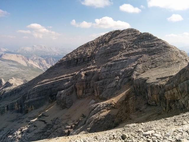 Blick auf den 2. La Varella-Gipfel