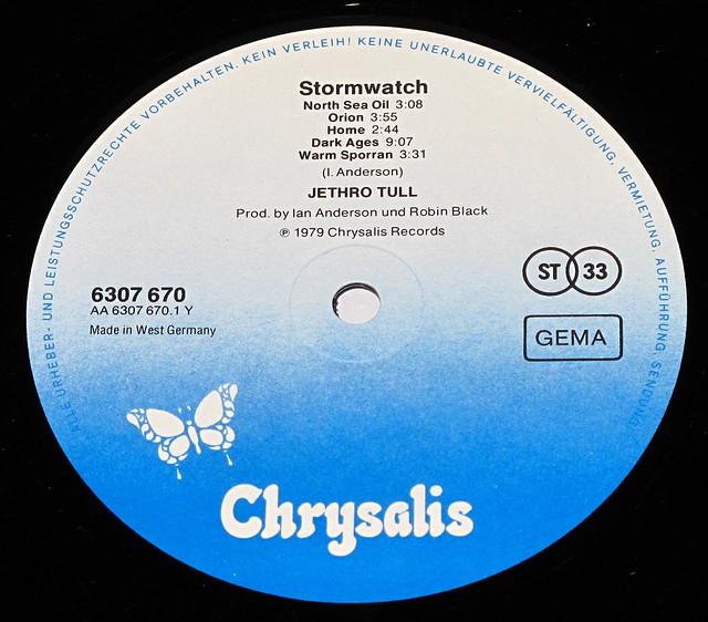"JETHRO TULL - StormWatch 12"" LP"