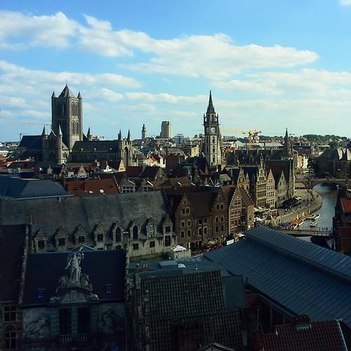 Panorama di Gent