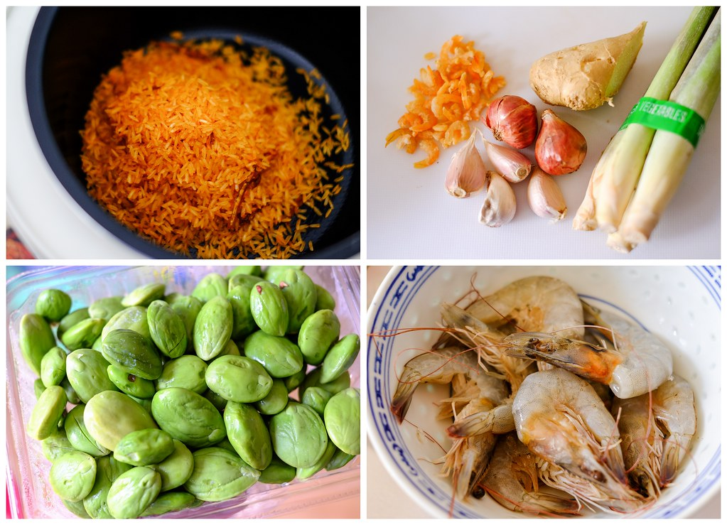 ingredients for sambal rice