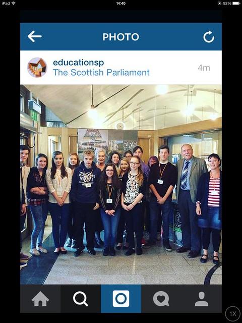 Scottish Parliament Visit