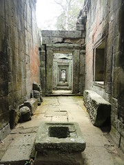 Passages of Preah Khan Angkor