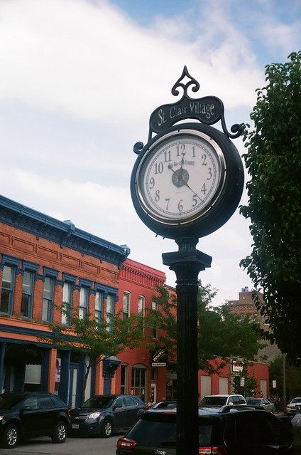 Clock, Warehouse District