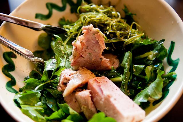 Salad e soppressata