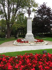 War Memorial, St. Marys Town Hall, St. Marys, Ontario