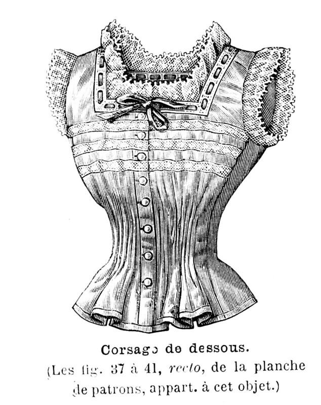 Cache-corset, 1898