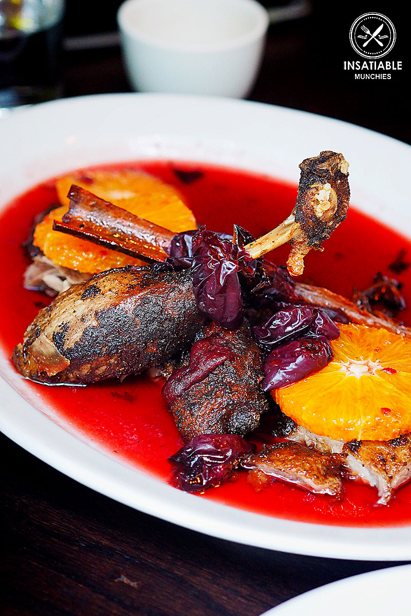 Crispy Duck with Davidson's Plum, $48, Billy Kwong Potts Point: Sydney Food Blog Review