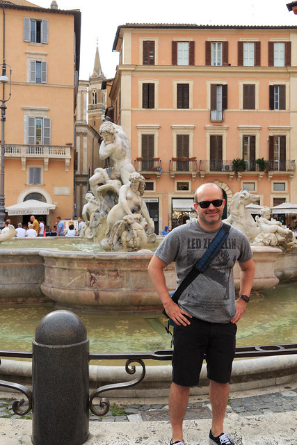Me in the Piazza Navonna