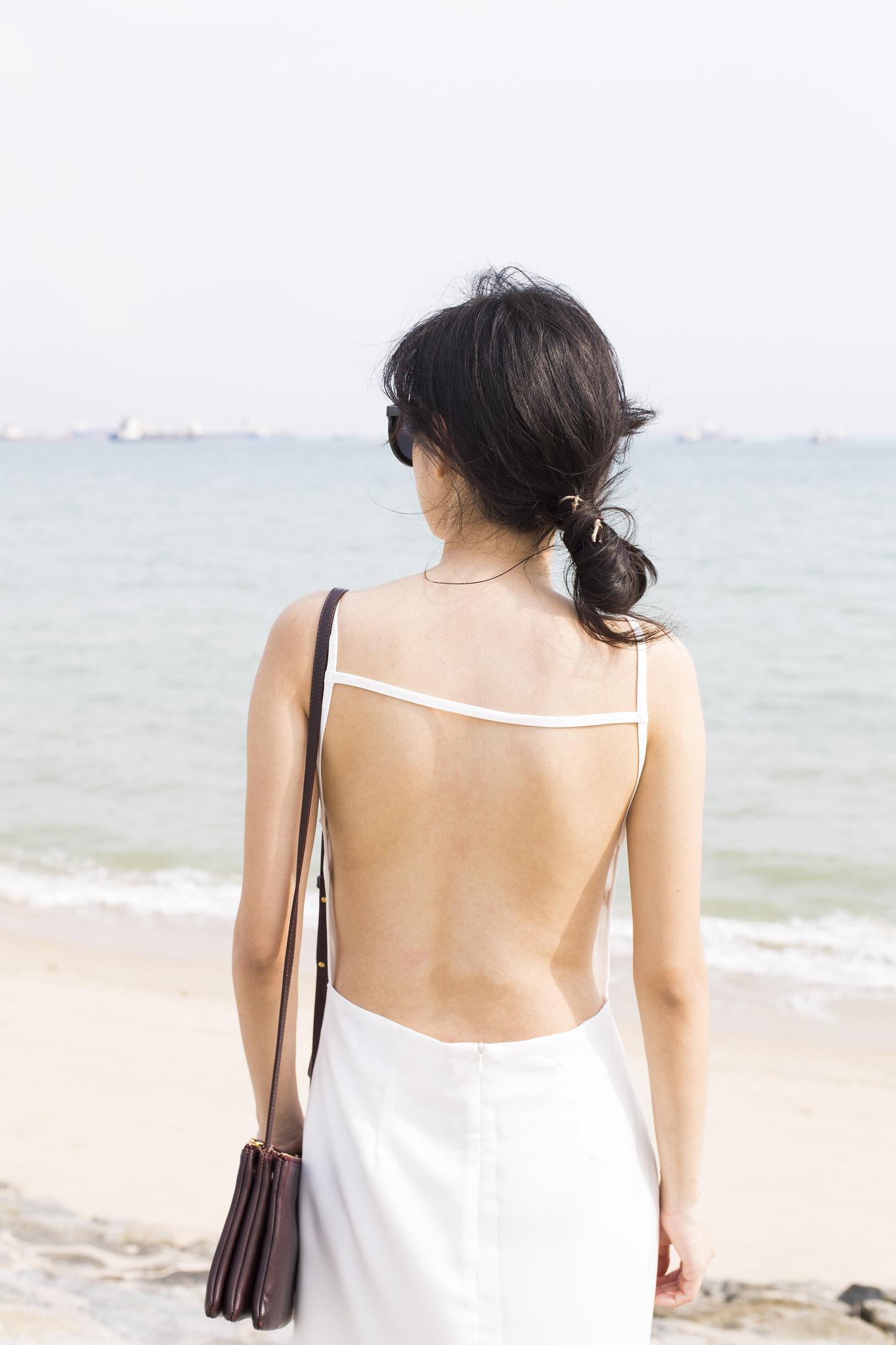 luxury silk dress