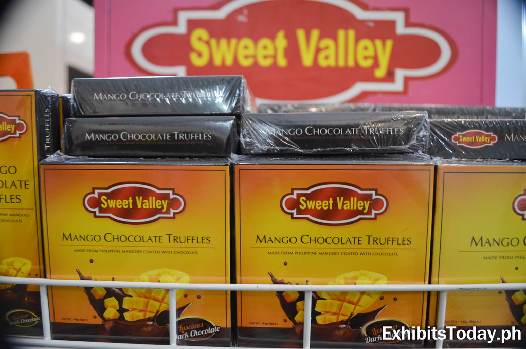Sweet Valley Mango Chocolate Truffles