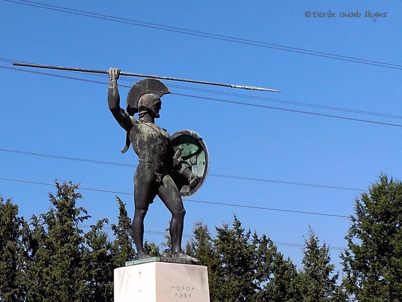 Escultura de Leonidas