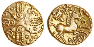 Lot 357 Celtic, Trinovantes and Catuvellauni, Andoco gold Stater