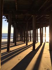 Under seacliff pier
