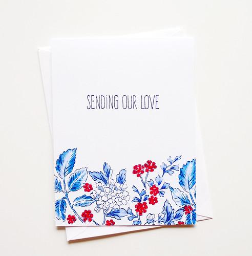 sending our love