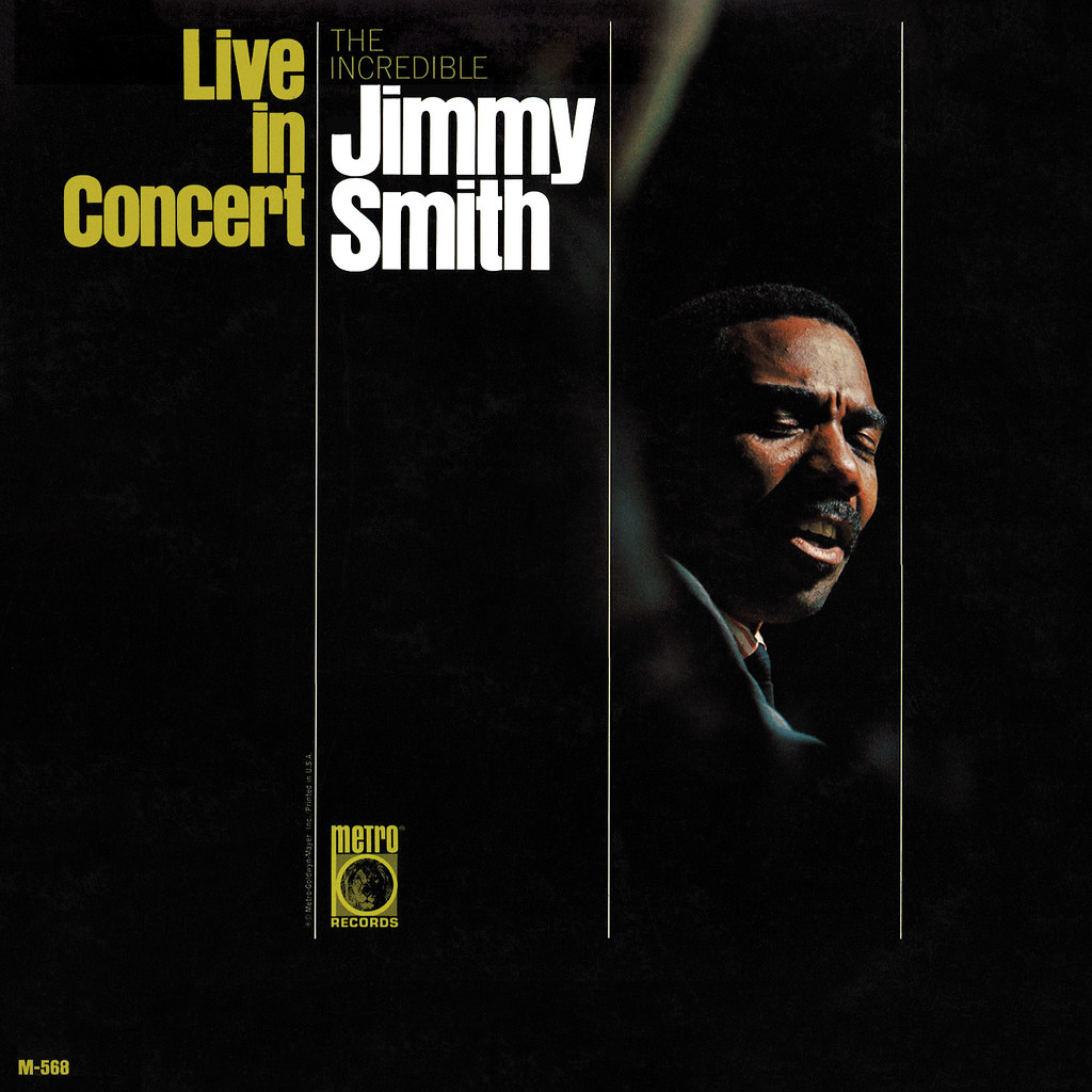 Jimmy Smith ‎– Live In Concert
