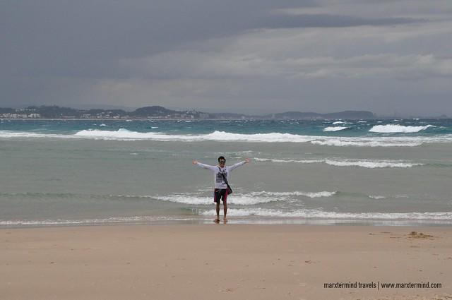 marxtermind at Coolangatta Beach Gold Coast