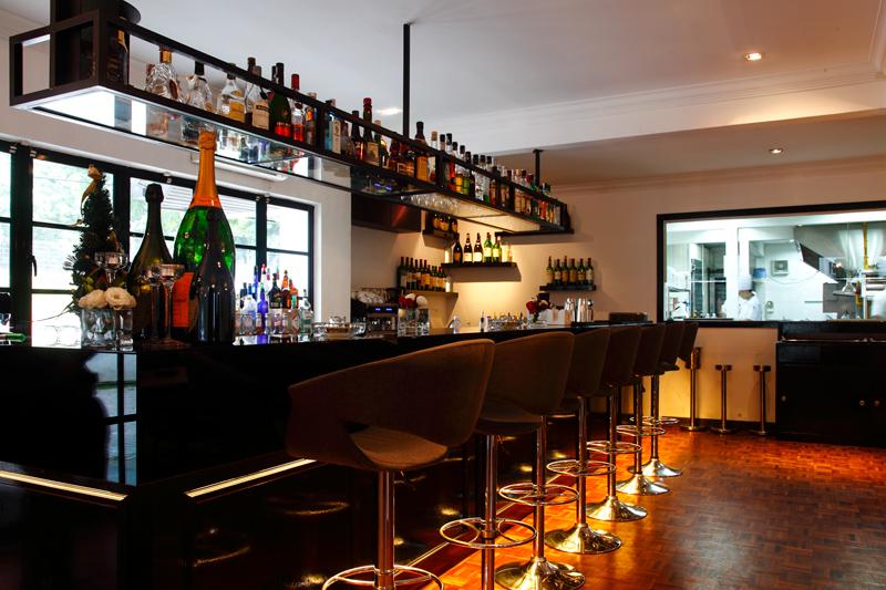 Maison Francaise Bar Open Kitchen