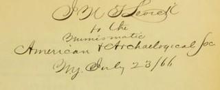 Cogan Levick sale catalog inscription