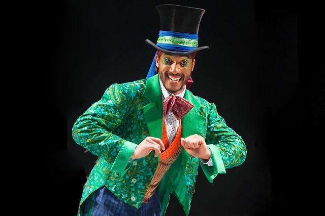 Issac 'Turbo' Baptiste in The Mad Hatter's Tea Party © ROH. Photographer Alice Pennefather, 2014