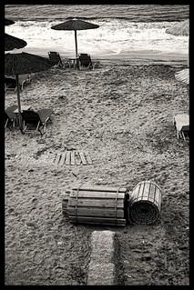 Le soir La plage