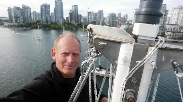 Mast Head Selfie Vancouver