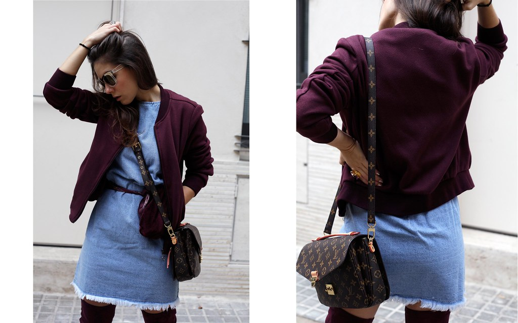 03_how_to_wear_bomber_burgundy_outfit_theguestgirl_streetstyle_barcelona