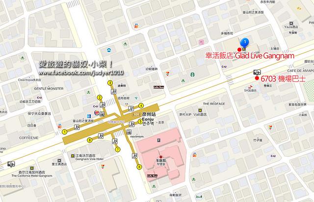幸活飯店彥州站地圖
