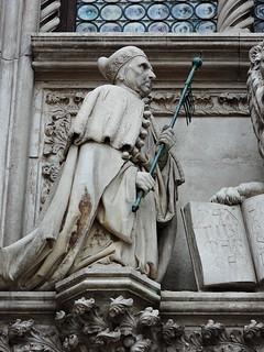 Image of Doge's Palace near Venice. ヴェネツィア venice venezia βενετία sculpture statue