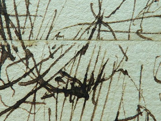 MILLET Jean-François,1850 - Départ pour le Travail, Etude - The Walk to Work  (drawing, dessin, disegno-Louvre RF11191) - Detail 61