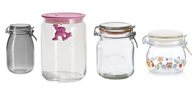 4-Glass-Jars