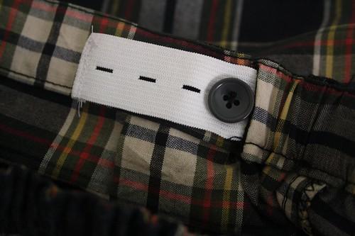 SEW - Madras Checks shorts Detail1