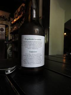 Image of Galgberget. beer sweden ale bier sverige ipa gotland birra visby indiapaleale øl galgbacken blacksheeparms barlingbogalgbacken barlingbobryggeri