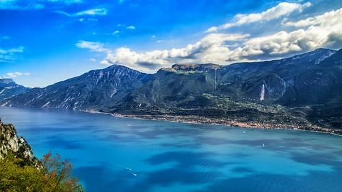Lago di Garda - View from Pieve di Tremosine