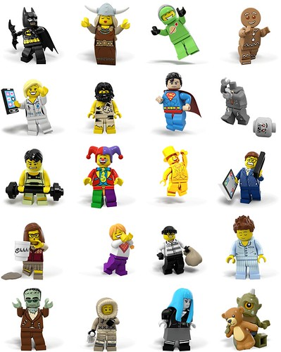 New LEGO Minifigures Animated Stickers on Facebook | The Brick Fan