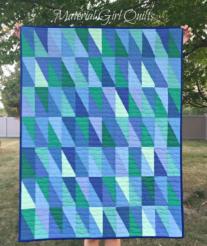 Oakshott baby blues quilt