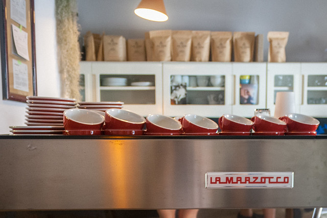 La Marzocco at PIECE OF CAKE, Poznań