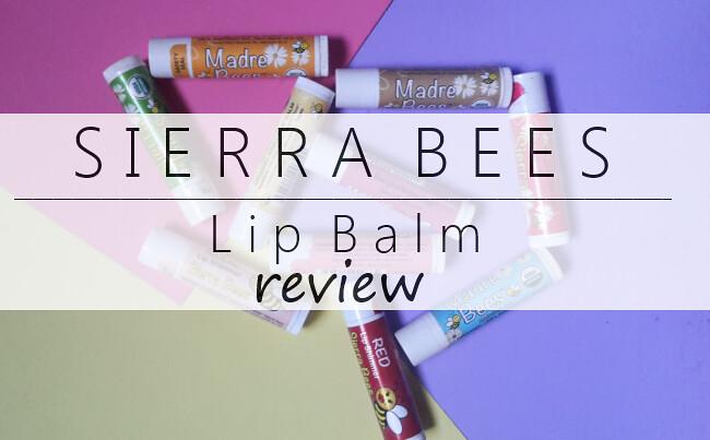 Sierra Bees Lip Balm Review