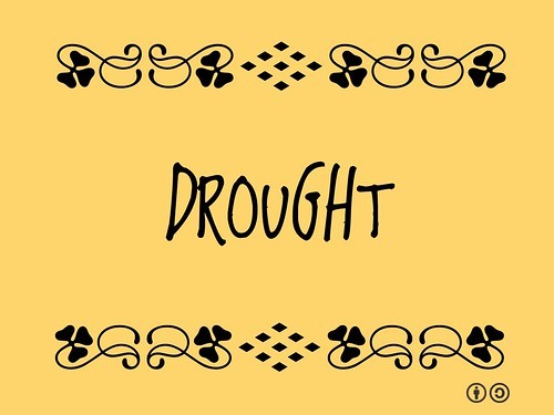 Buzzword Bingo: Drought