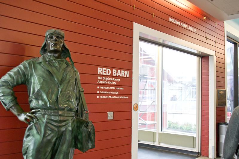 Red Barn @ The Museum of Flight, Seattle, WA