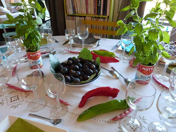 piments et haricots