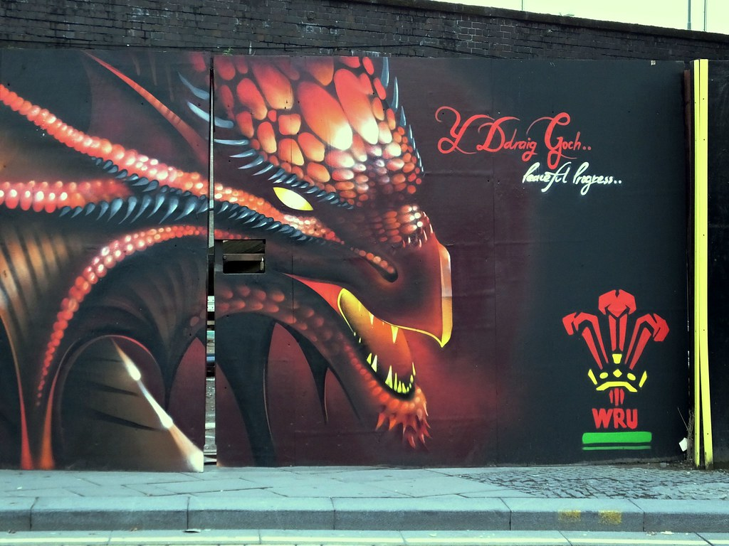 Rugby World Cup dragon by Peaceful Progress