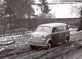 1953 Lloyd LT400?   press photo
